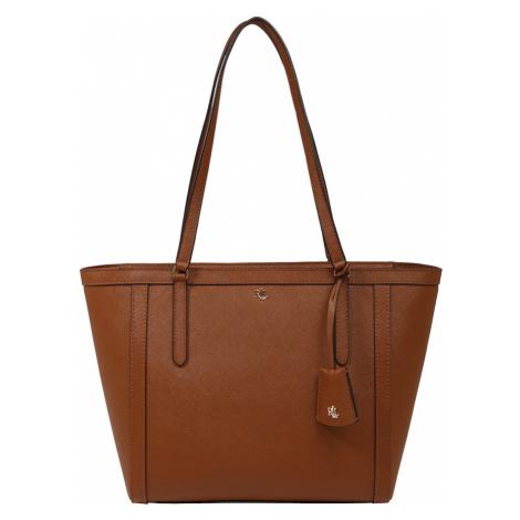 Lauren Ralph Lauren Nákupní taška 'CLARE' hnědá