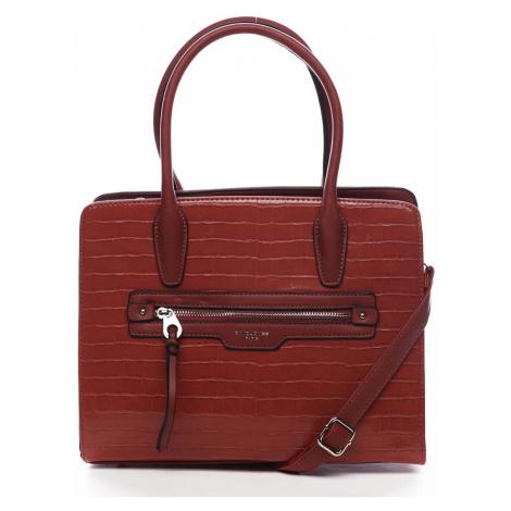 Dámská kabelka červená - David Jones Camille