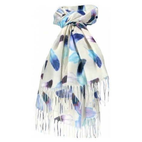 Dámský šátek bílý krémový FEATHER