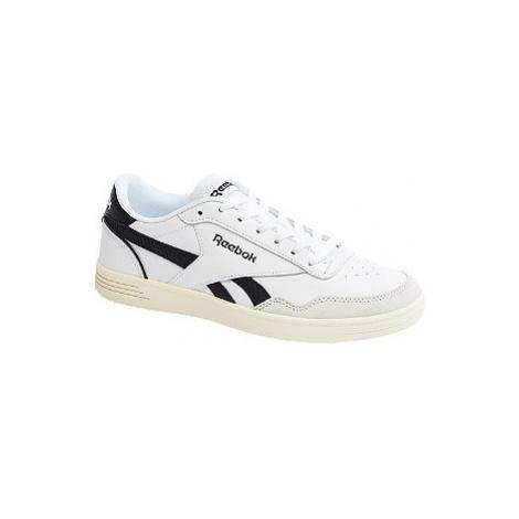 Bílo-černé kožené tenisky Reebok Royal Techque T