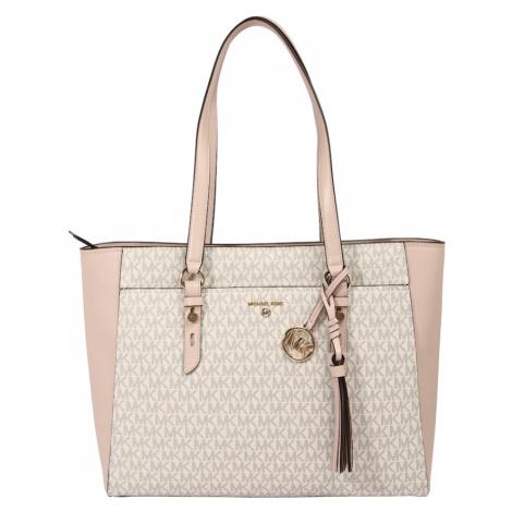 MICHAEL Michael Kors Nákupní taška béžová / růžová / brokátová