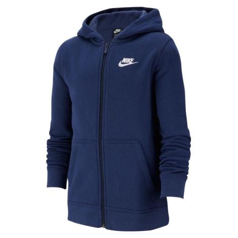 Dětská mikina Nike Fundamentals Hoody Modrá
