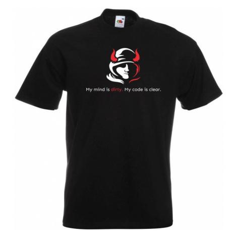 Programátorské tričko - Dirty mind