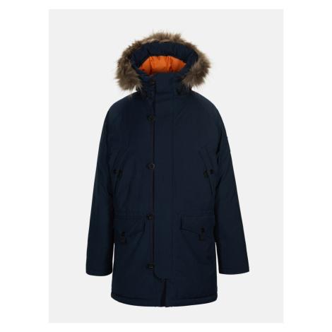 Kabát Peak Performance X.11 Navpa Parka - Modrá