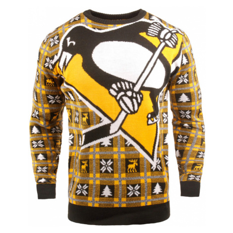 Vánoční svetr Forever Collectibles Busy Block Ugly NHL Pittsburgh Penguins