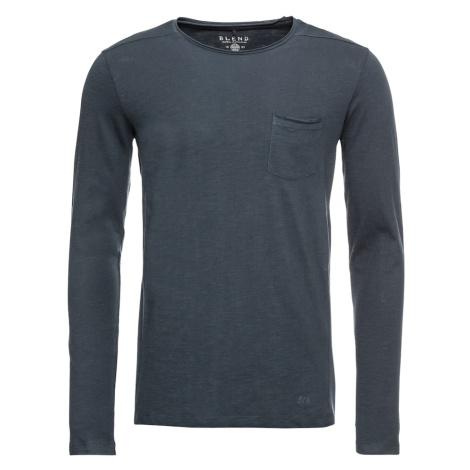 BLEND Tričko tmavě modrá