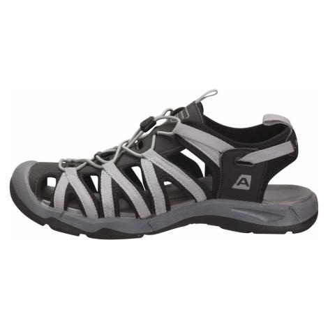 Letní sandály Alpine Pro LANCASTER 3 - šedo-černá