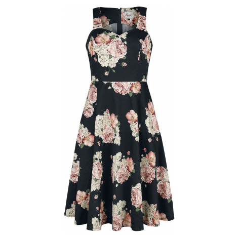 Banned Retro Šaty English Rose Šaty vícebarevný