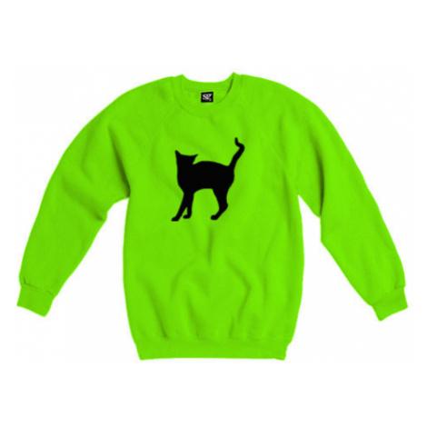 Dámská mikina bez kapuce Kočka - Líza