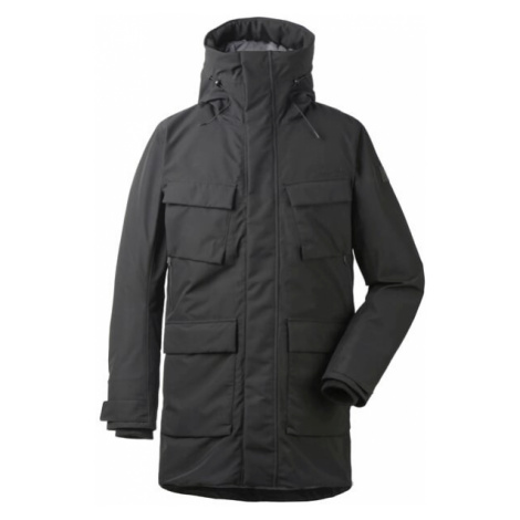 Pánský kabát Didriksons Drew černá Didriksons 1913