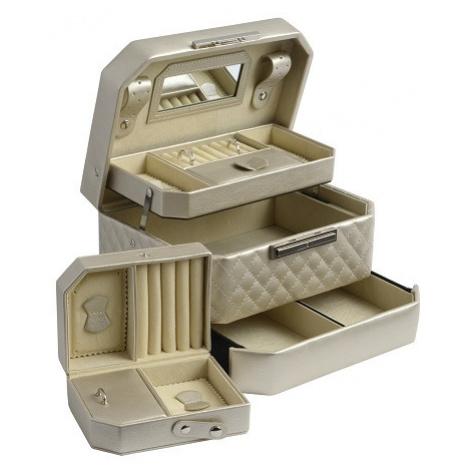 JK BOX SP-930/A20, Dámská šperkovnice krémová JKbox