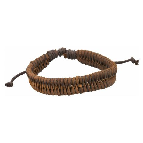 Linda's Jewelry Kožený náramek Snake INR056