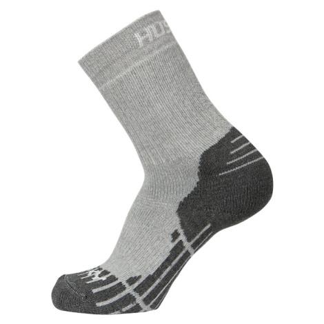 Husky All Wool, sv. šedá Ponožky