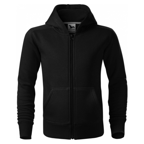 Malfini Trendy Zipper Dětská mikina 41201 černá
