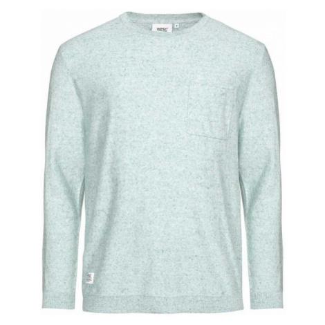 Modro–bílý pletený svetr Arvid WeSC