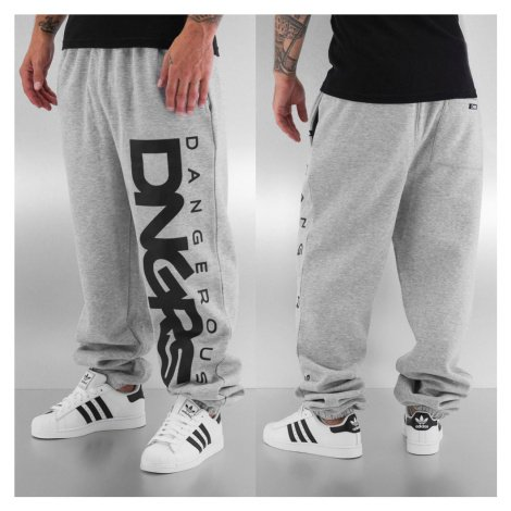 Tepláky Dangerous DNGRS / Sweat Pant Classic in grey