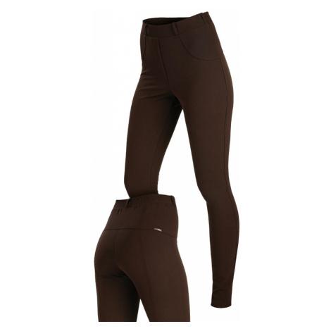 LITEX Kalhoty dámské dlouhé 7A037414 hnědá