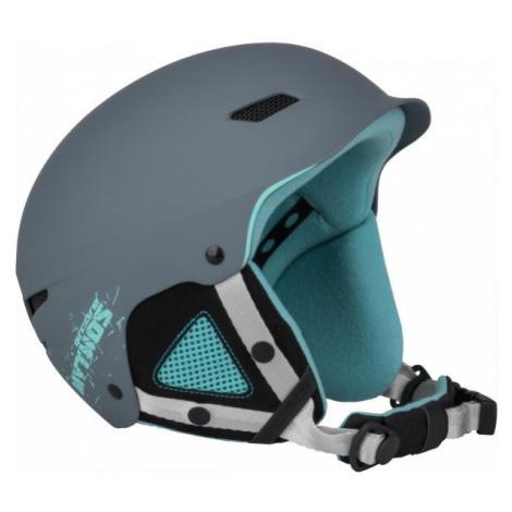 Arcore MYTHOS šedá - Dětská lyžařská/snowboardová přilba