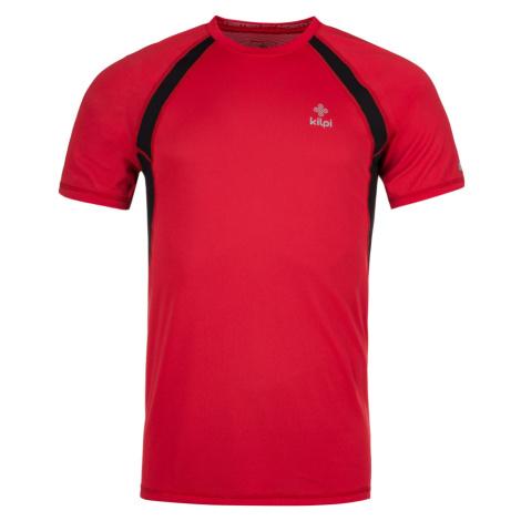 KILPI Pánské funkční triko RUNFUL-M KM0221KIRED Červená