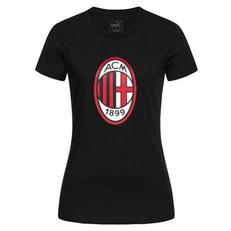 Dámské bavlněné tričko AC Milan PUMA