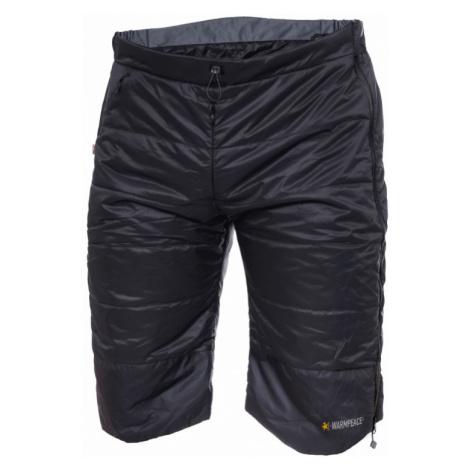 Pánské zateplovací šortky Warmpeace Rond black/dark grey