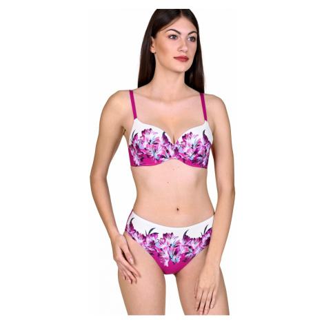 Dámské plavky LISCA Egina 40484+41437 růžová | fialová
