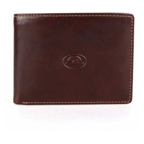 Tony Perotti Pánská kožená peněženka Italico 537 - tmavě hnědá
