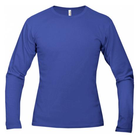 Tričko pánské AF long dlouhé - Královská Modř