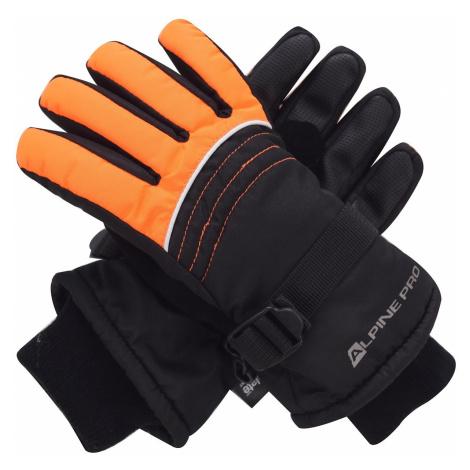 Dětské rukavice Alpine Pro RODO - oranžová