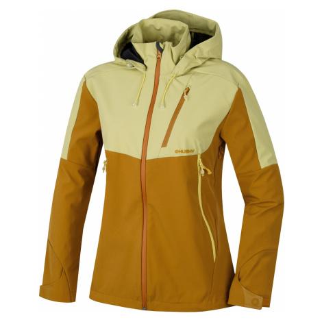 Husky Sauri L, sv. žlutá Dámská outdoor bunda