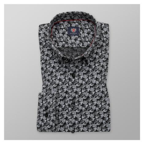 Pánská košile Slim Fit s potiskem mušlí 11200 Willsoor