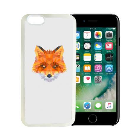 iPhone 7/8 kryt gumový soft liška