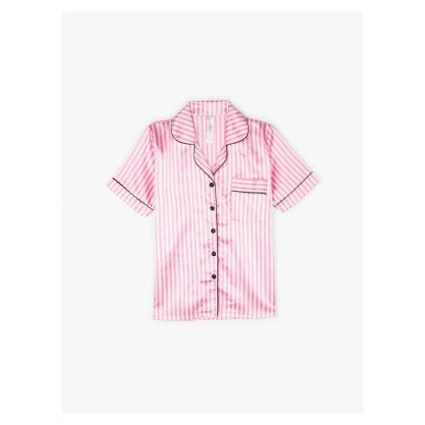 GATE Saténová pyžamová košile