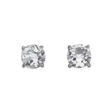 Hot Diamonds Stříbrné náušnice Hot Diamonds Anais bílý Topaz AE004