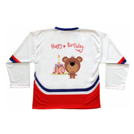 Hokejový dres ČR Happy Birthday Bear