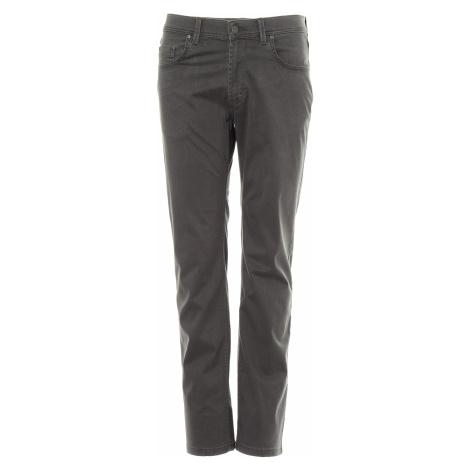 Kalhoty Pioneer Rando pánské tmavě šedé