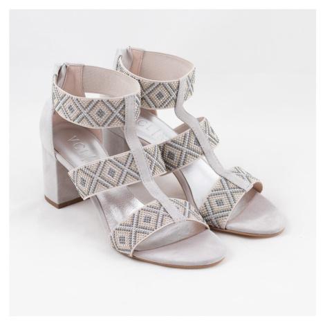 Sandály šedé V-2966SS