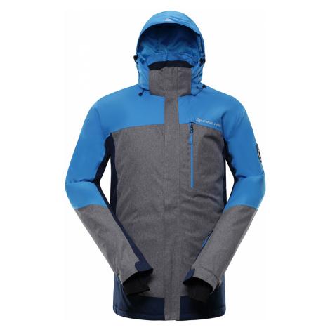 ALPINE PRO SARDAR 3 Pánská lyžařská bunda MJCP369674 Blue aster