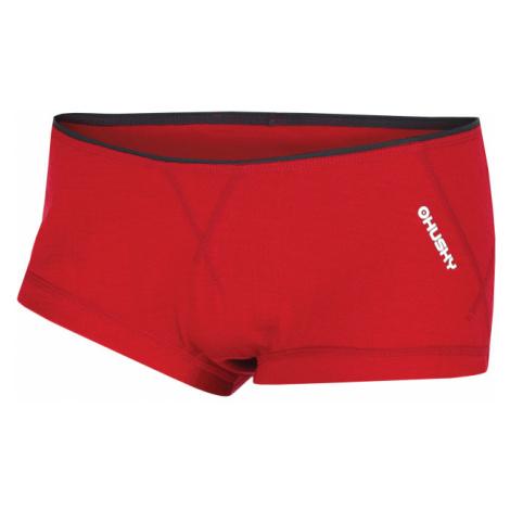 Dámské kalhotky HUSKY Merino 100 červená