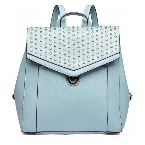 Modrý stylový dámský městský batoh Paulen Lulu Bags
