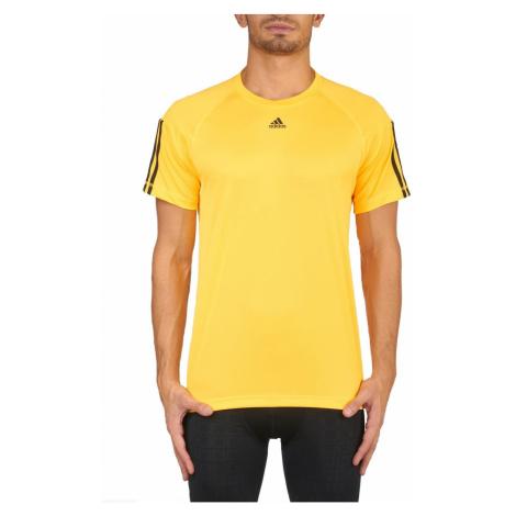 Pánské tričko adidas BASE 3S Žlutá / Černá