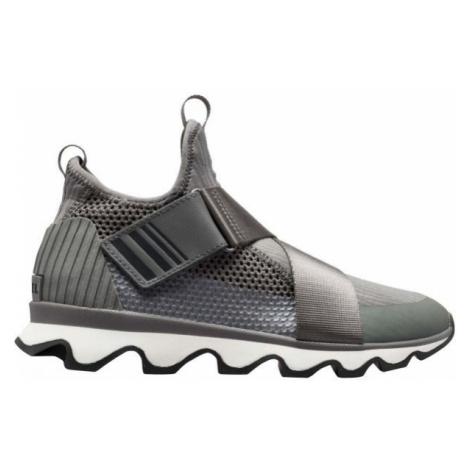 Sorel KINETIC SNEAK šedá - Dámská obuv
