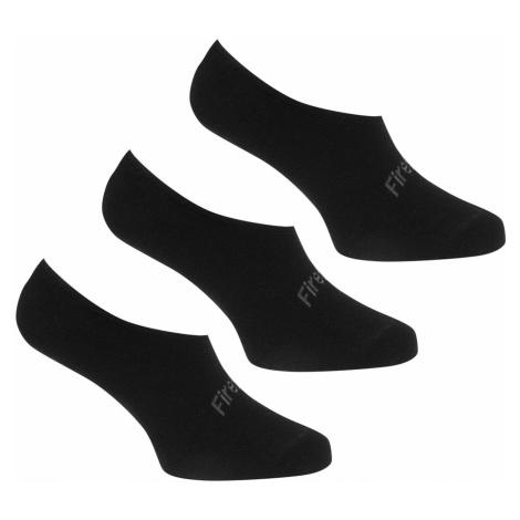 Firetrap 3 Pack Invisible Socks Ladies