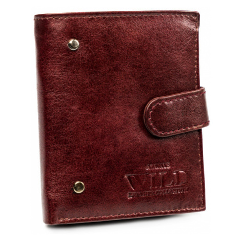 Pánská malá kožená peněženka s dárkovou krabičkou Always Wild