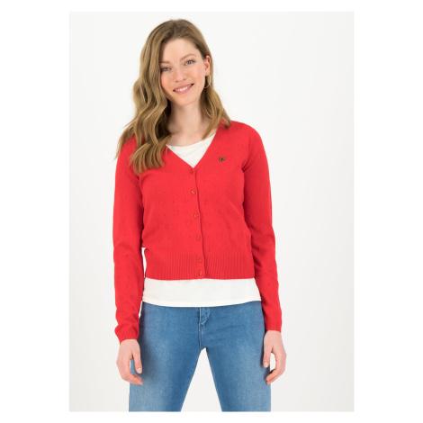 Dámský lehký svetr červený Blutsgeschwister