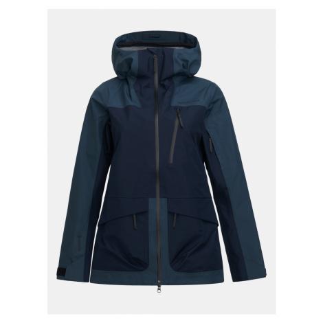 Bunda Peak Performance W Vertical 3L Jacket - Modrá