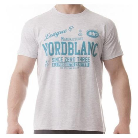 Tričko NordBlanc NBFMT5935 Pash light grey melange
