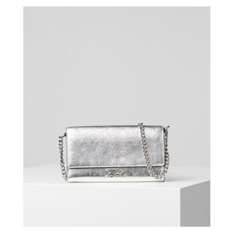 Peněženka Karl Lagerfeld K/Signature Met Wallet Chain