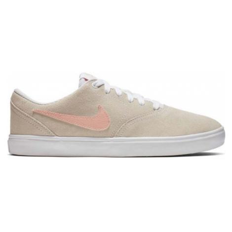 Nike SB CHECK SOLAR béžová - Dámské tenisky