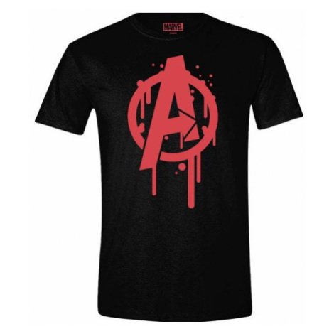 Tričko Marvel's Avengers - A Splash Logo